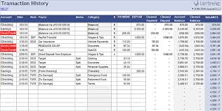 Accounting Spreadsheet Templates Excel 3