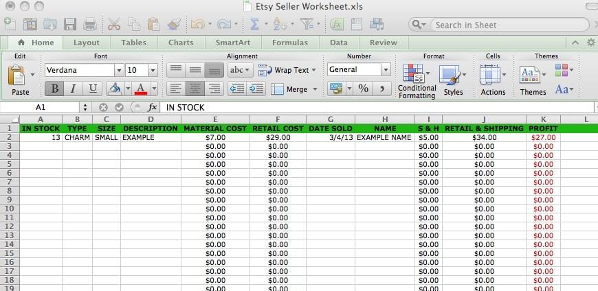 Basic Accounting Formulas Printable Worksheet 1 1