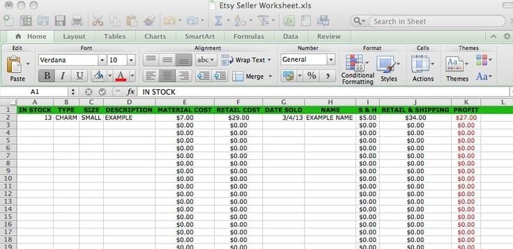 Bookkeeping Spreadsheet Templates