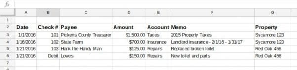 Business Spreadsheet Of Expenses And Income 3