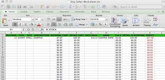 Expense Sheet For Small Business 2
