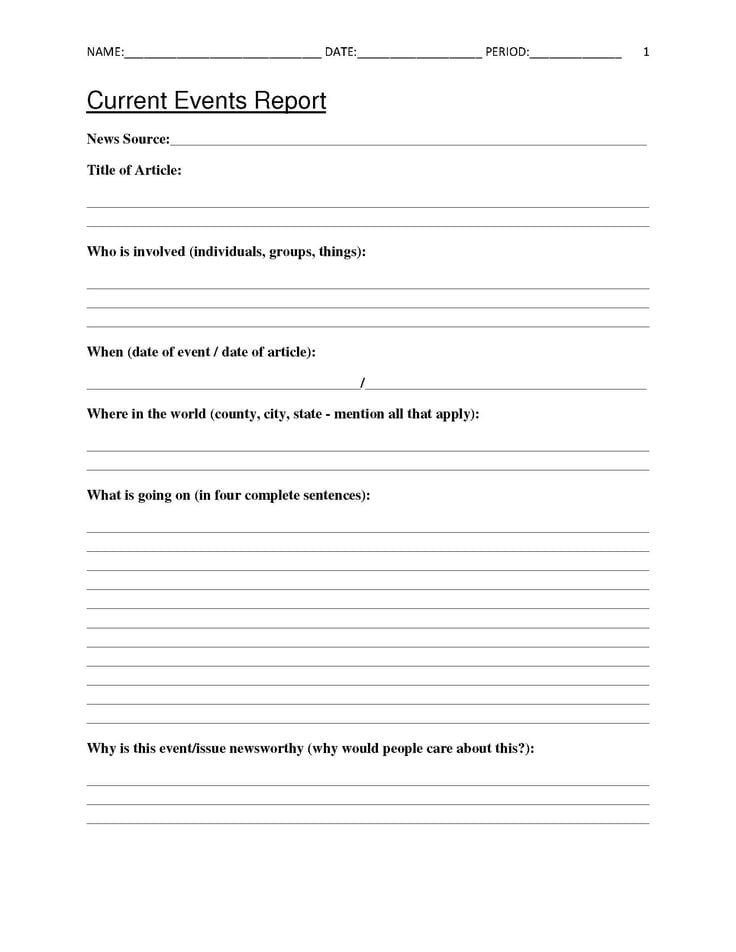 Free Classroom Templates For Teachers