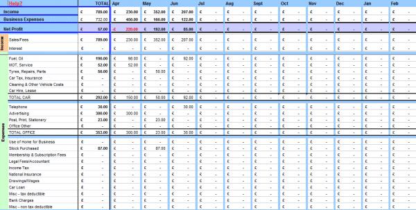 Free Farm Bookkeeping Spreadsheet