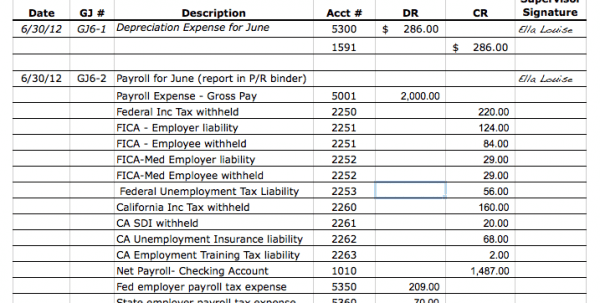 Free Small Business Bookkeeping Spreadsheet