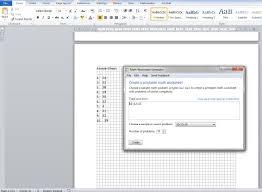 Free Worksheet Generator For Teachers