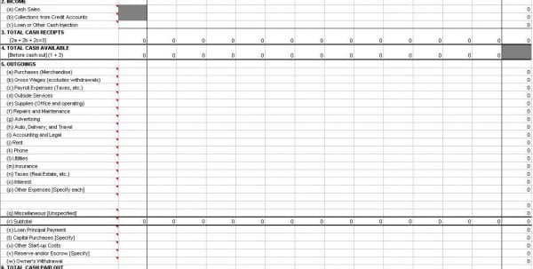 Simple Bookkeeping With Excel 1