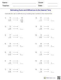 Worksheet Generator Math