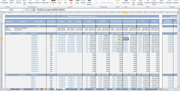 Bookkeeping Templates For Self Employed 2