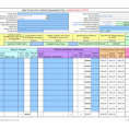Business Spreadsheet Template