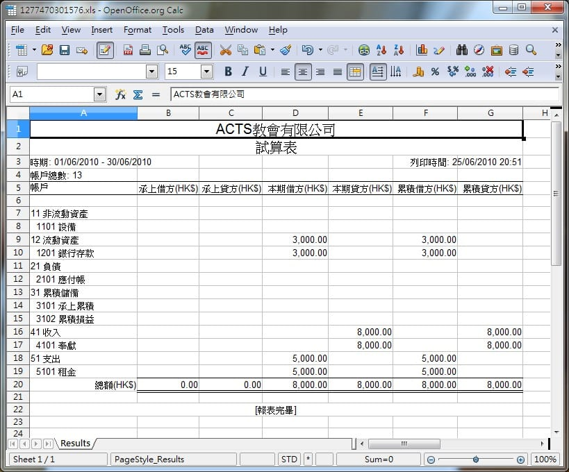 Excel Accounting Template For Small Business 3