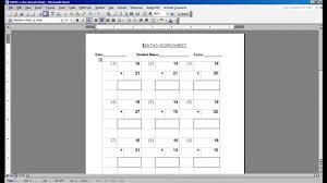 Fill In The Blank Worksheet Generator
