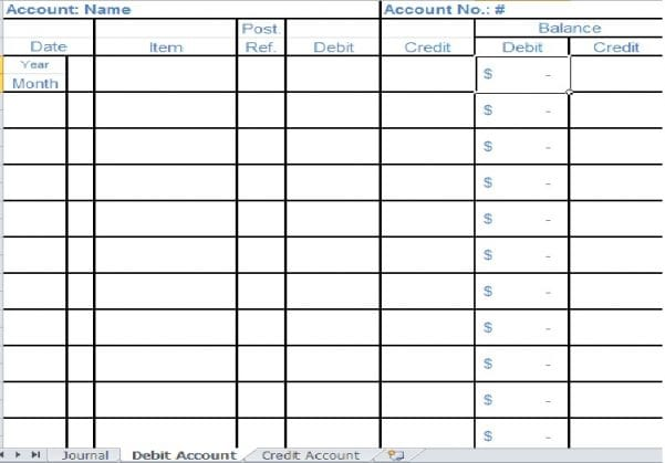 Free Accounting Spreadsheet For Small Business