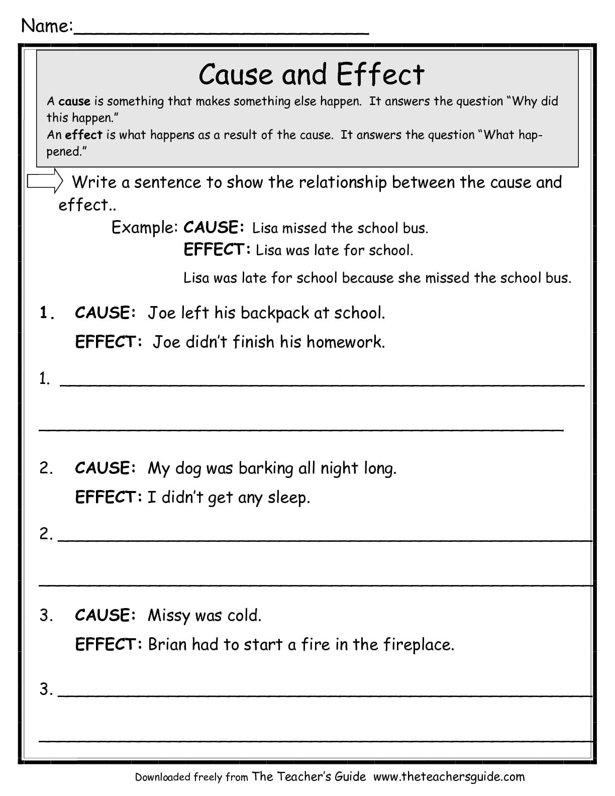 Math Worksheet Templates