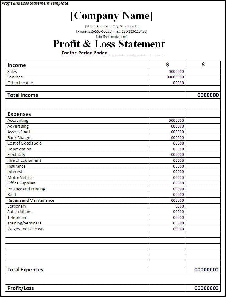 Simple Balance Sheet Ine Statement Exle Printable And Expense Form Financial Template: Business Income Statement Sheet Free Printable At Alzheimers-prions.com