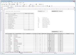 Some Example Of Spreadsheet Software