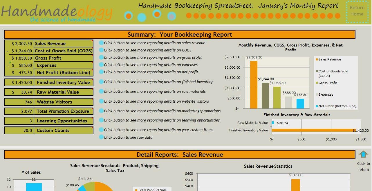 Spreadsheet Accounting
