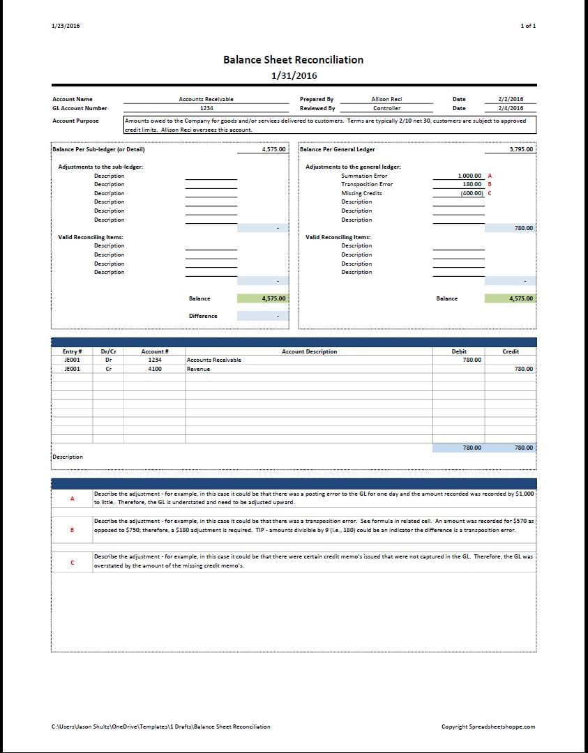 Accounting Journal Paper Template