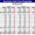 Cash Flow Worksheet Excel Free