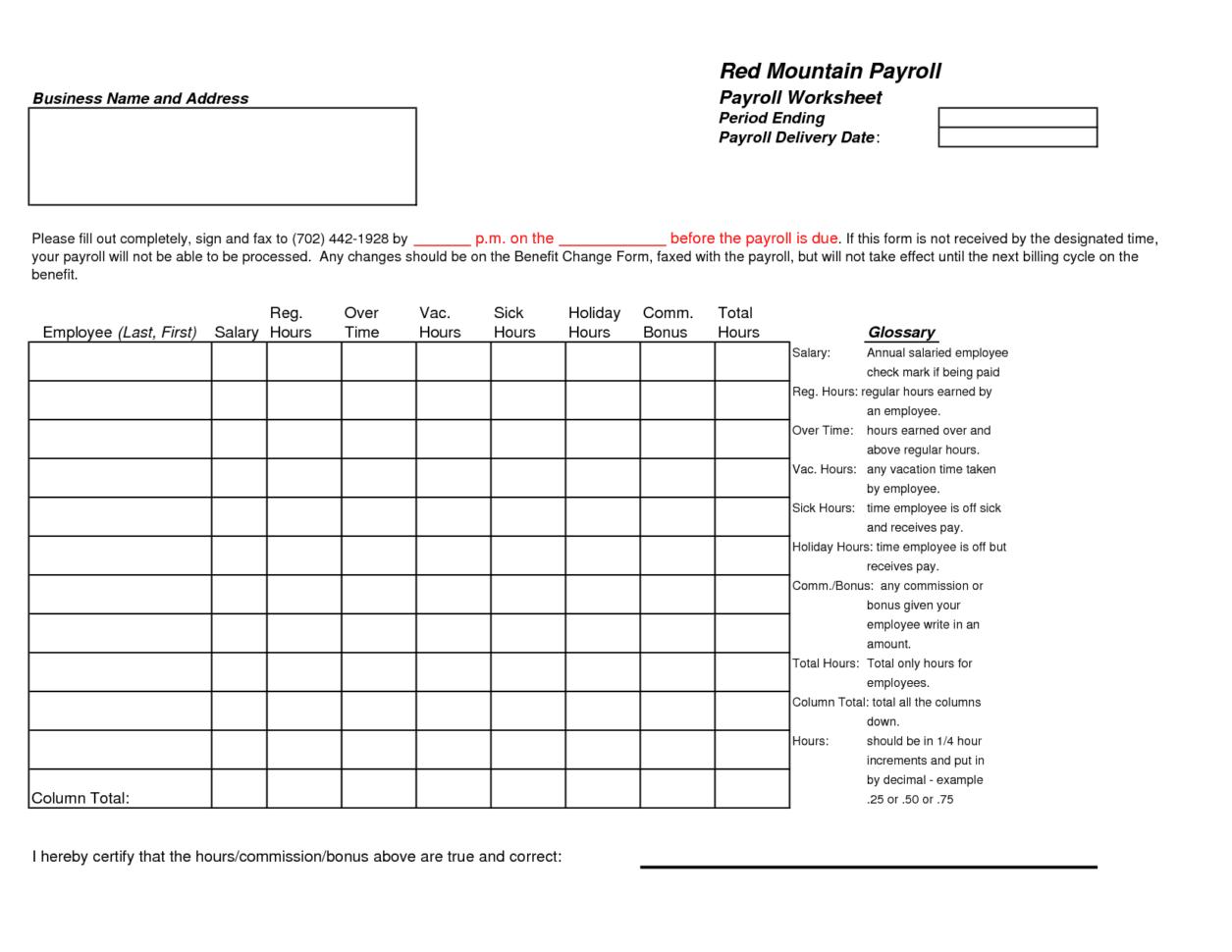 payroll spreadsheet template payroll spreadsheet spreadsheet templates for busines excel payroll. Black Bedroom Furniture Sets. Home Design Ideas