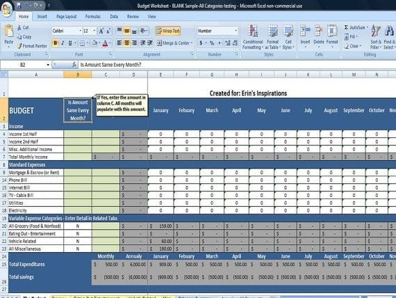 Expense Sheet For Small Business 1 1