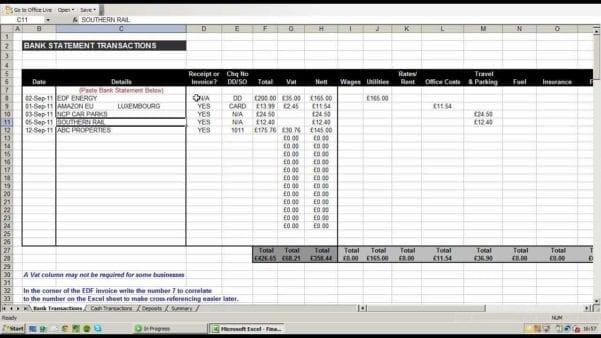 Free Printable Expense Sheet