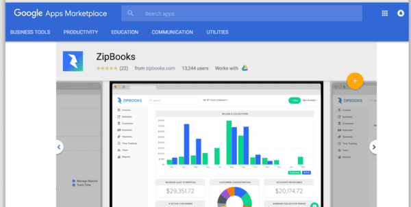 Google Accounting Software