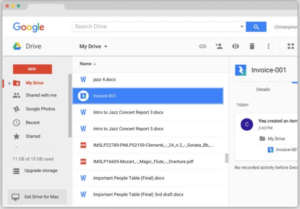 Google Bookkeeping Freeware