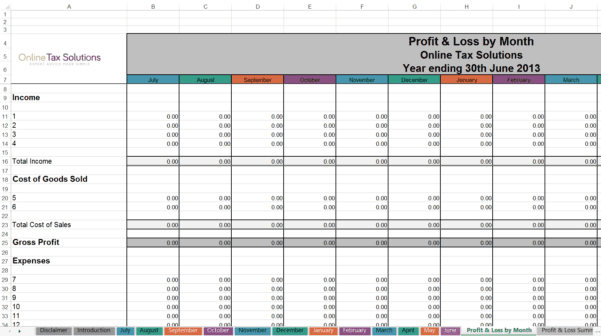 Journal Entry Template In Excel