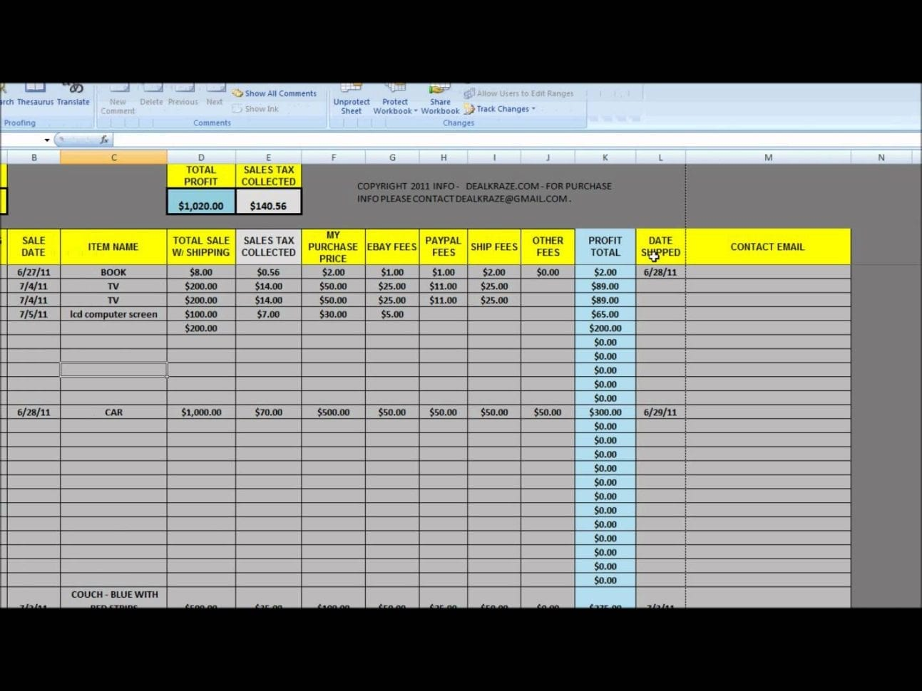 Lead Tracking Spreadsheet Template