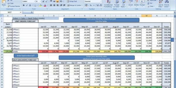 Microsoft Excel Balance Sheet Templates