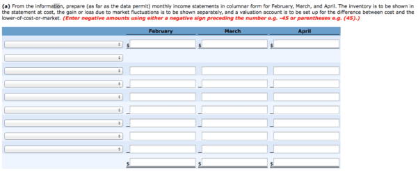 monthly balance sheet template excel