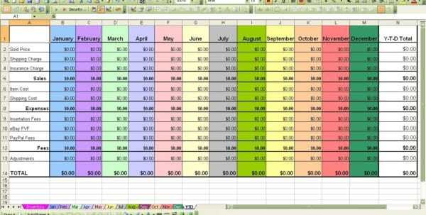 Inventory Spreadsheet Template For Excel Excel Spreadsheet