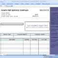 Simple Billing Programs Business Invoice Program Sample