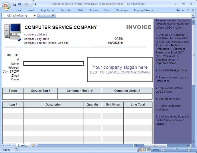 Simple Billing Programs