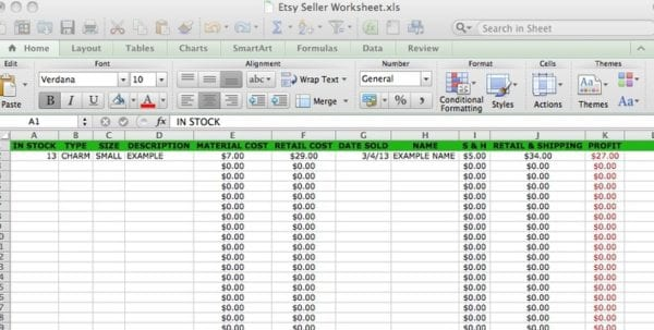 Small Business Accounting Excel Templates