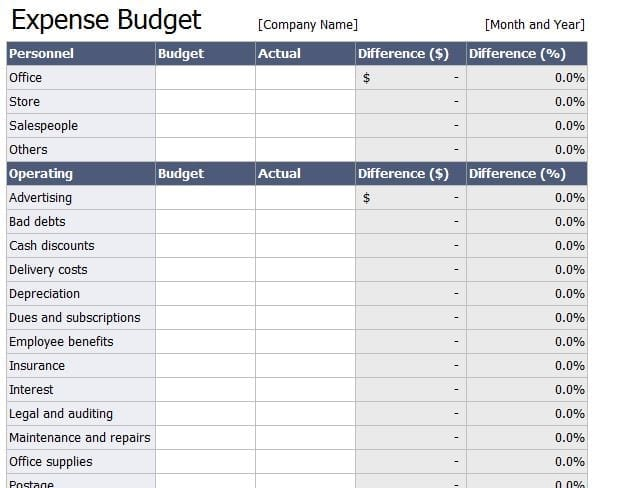 company bookkeeping templates - spreadsheet for monthly expenses bookkeeping spreadsheet