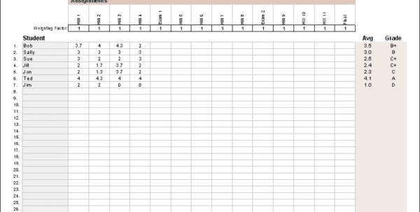 Accounting Worksheet Templates