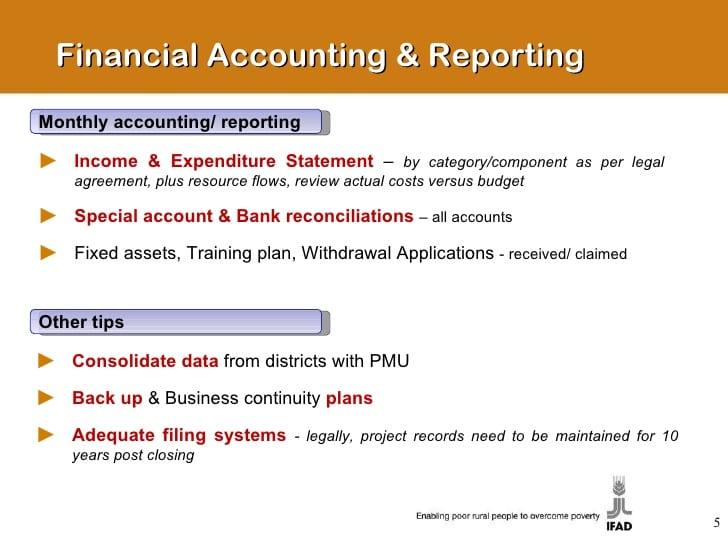 Monthly Financial Report Excel Template  TvsputnikTk