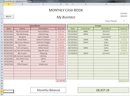 Bookkeeping Spreadsheet Template 3