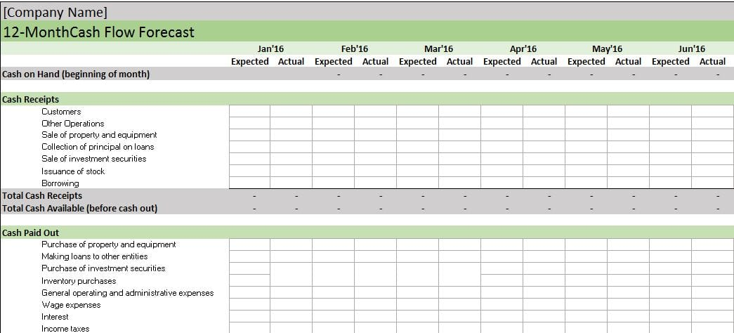 Bookkeeping Templates For Self Employed 3
