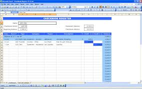 check register template excel 2007 excel bank account template