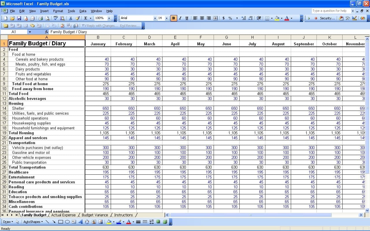 Daily Income And Expense Excel Sheet Expense Tracking Spreadsheet ...