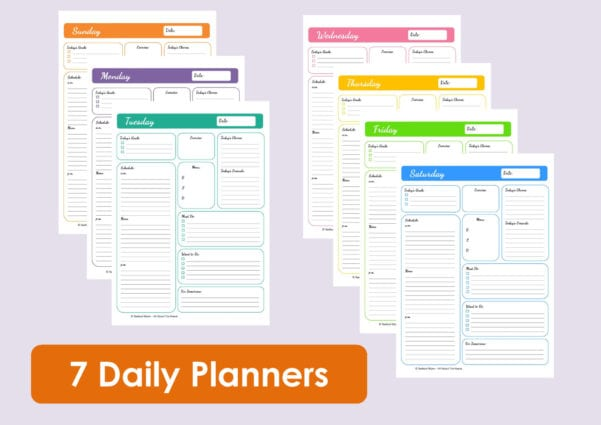 Daily Time Management Template