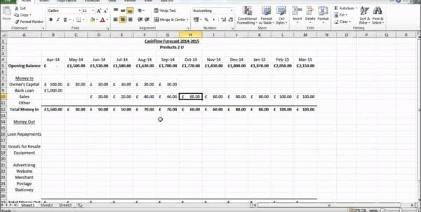 Discounted Cash Flow Excel Template Cash Flow Excel Spreadsheet Template Cash Flow Spreadsheet, Spreadsheet Templates for Business