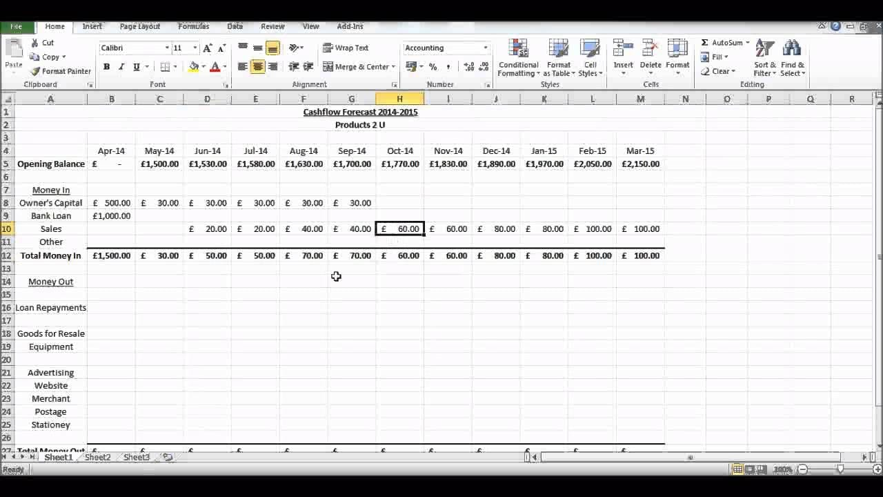 Discounted cash flow excel template cash flow excel for Discounted cash flow analysis excel template