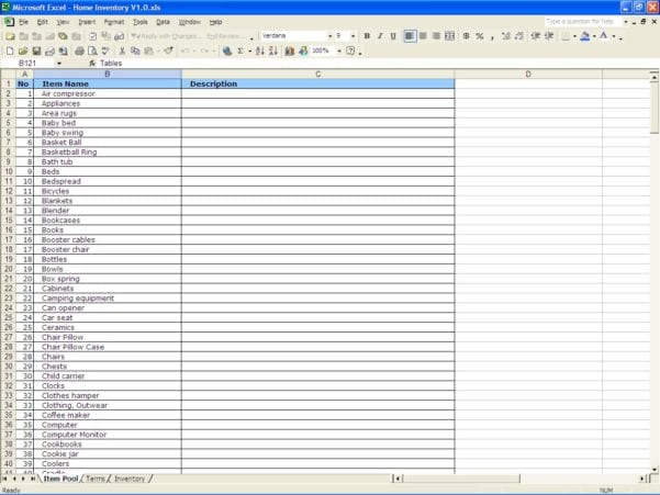 Create A Monthly Budget Worksheet