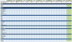 Excel Accounting Spreadsheet 1