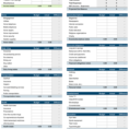 Excel Accounting Template For Small Business Accounting Spreadsheet Templates