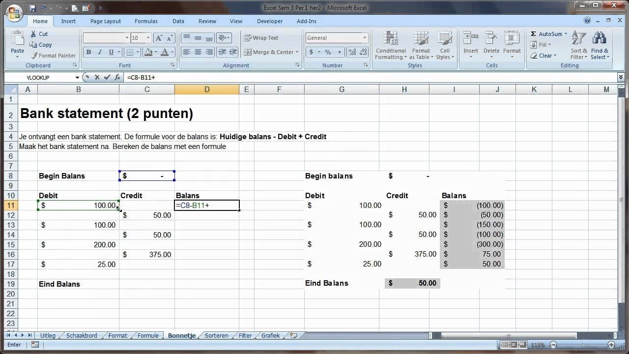Excel Accounting Template For Small Business 1