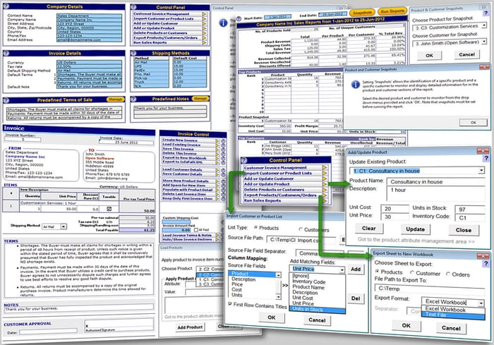 client database template excel free